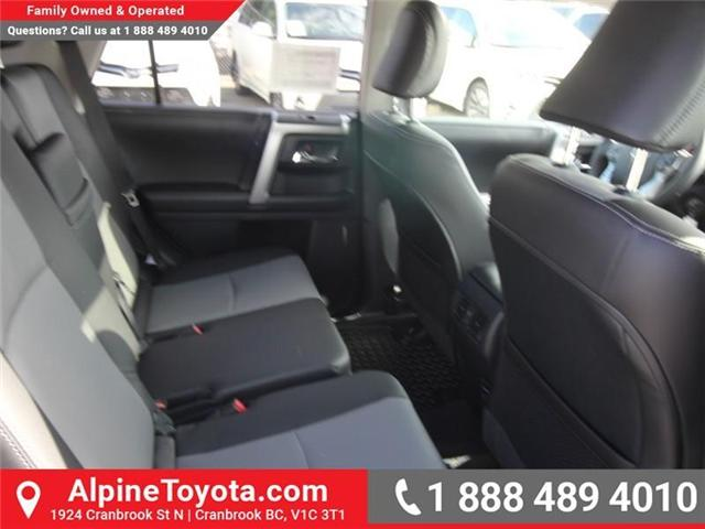 2018 Toyota 4Runner SR5 (Stk: 5607427) in Cranbrook - Image 12 of 18