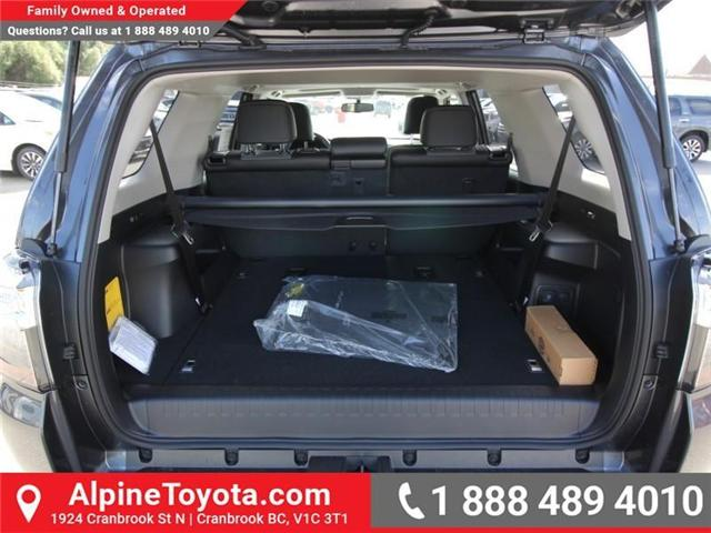 2018 Toyota 4Runner SR5 (Stk: 5607427) in Cranbrook - Image 17 of 18