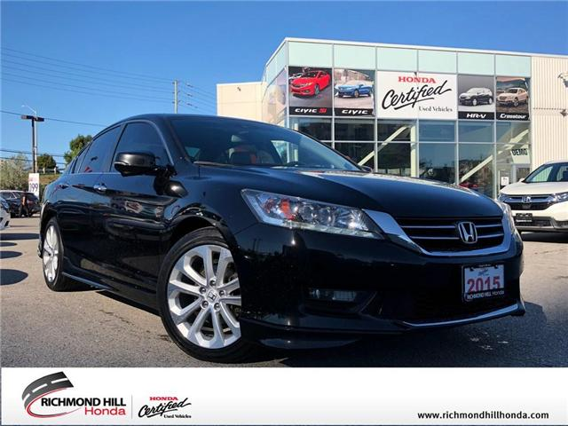 2015 Honda Accord Touring (Stk: 181402P) in Richmond Hill - Image 1 of 22