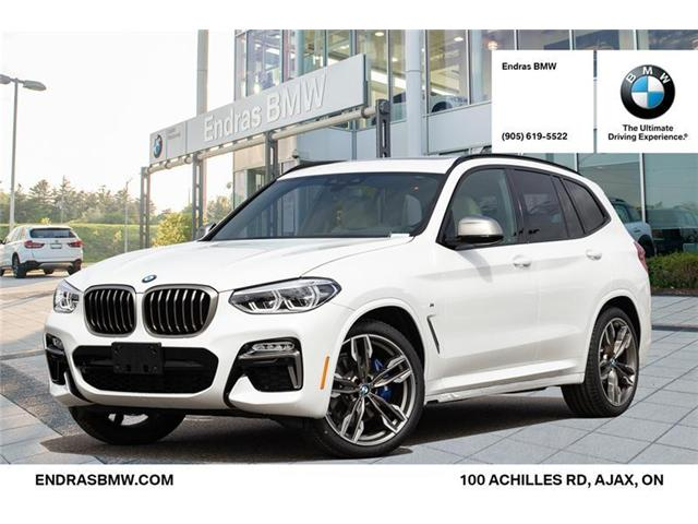 2019 bmw x3 m40i at 524 b w for sale in ajax endras bmw. Black Bedroom Furniture Sets. Home Design Ideas