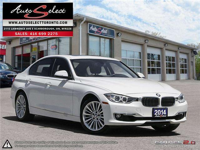 2014 BMW 328i xDrive (Stk: 14BSW1T) in Scarborough - Image 1 of 28