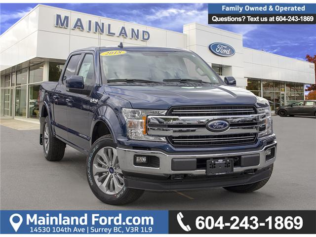 2018 Ford F-150 Lariat (Stk: 8F19683) in Surrey - Image 1 of 30