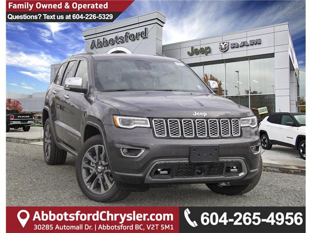 2018 Jeep Grand Cherokee Overland (Stk: J449275) in Abbotsford - Image 1 of 27
