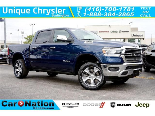 2019 RAM 1500 LARAMIE| AIR SUSPENSION| SUNROOF| 12in SCREEN (Stk: NOU-618975-K213) in Burlington - Image 1 of 30