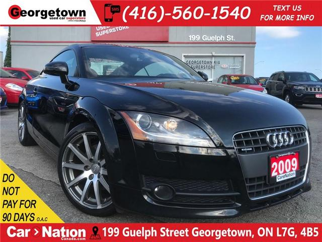 2009 Audi TT 2.0T (S tronic) | QUATTRO | LEATHER | AUTO | RARE (Stk: P11378) in Georgetown - Image 1 of 24
