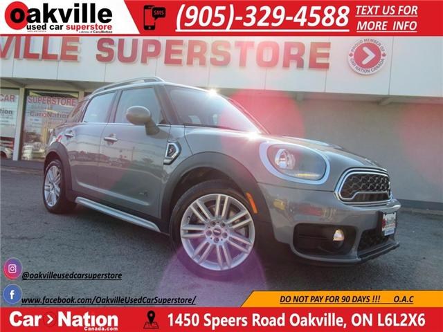 2018 MINI Cooper Countryman ALL4 S | LEATHER | B/U CAM | SUNROOF | (Stk: DR358) in Oakville - Image 1 of 28
