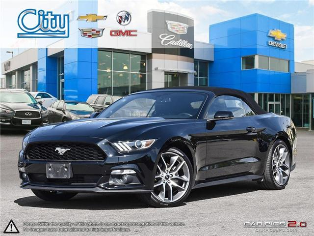 2015 Ford Mustang EcoBoost Premium (Stk: R12030) in Toronto - Image 1 of 28