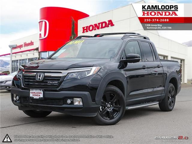 2018 Honda Ridgeline Black Edition (Stk: N13835) in Kamloops - Image 1 of 24
