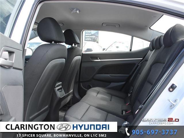 2019 Hyundai Elantra Preferred (Stk: 18622) in Clarington - Image 19 of 27