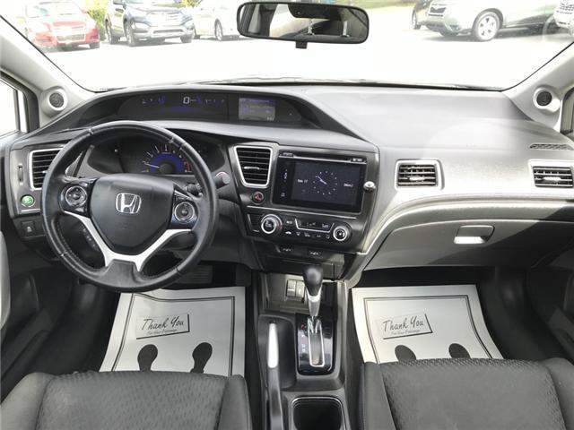 2015 Honda Civic EX (Stk: U03915) in Lower Sackville - Image 10 of 17