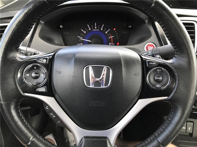 2015 Honda Civic EX (Stk: U03915) in Lower Sackville - Image 17 of 17