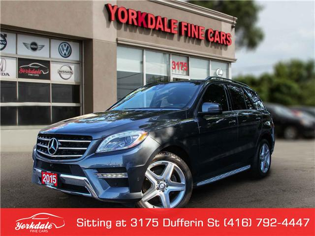 2015 Mercedes-Benz M-Class  (Stk: S1754) in Toronto - Image 1 of 27