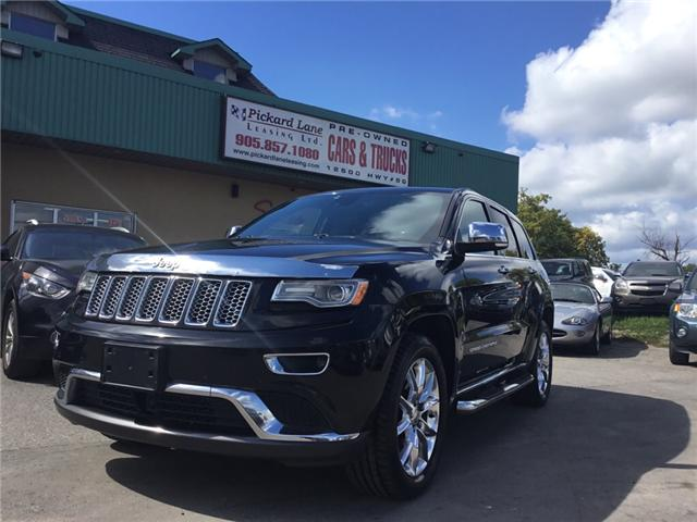 2015 Jeep Grand Cherokee Summit (Stk: -) in Bolton - Image 1 of 29