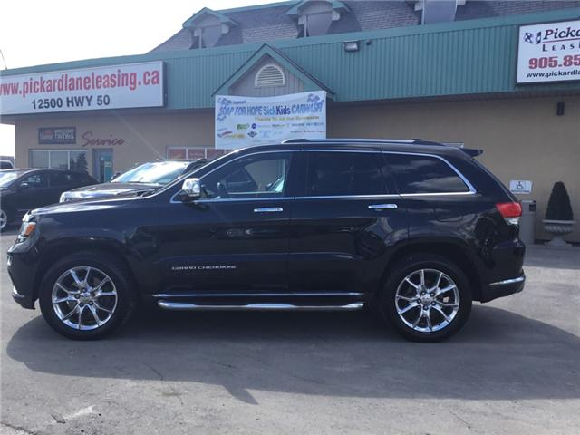 2015 Jeep Grand Cherokee Summit (Stk: -) in Bolton - Image 2 of 29
