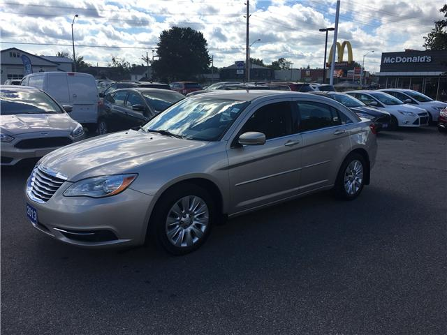 2013 Chrysler 200 LX (Stk: 18599A) in Perth - Image 1 of 8