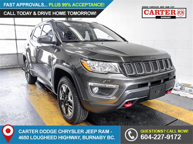 2018 Jeep Compass Trailhawk (Stk: 4434420) in Burnaby - Image 1 of 6