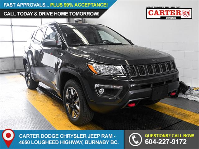 2018 Jeep Compass Trailhawk (Stk: 4434400) in Burnaby - Image 1 of 6