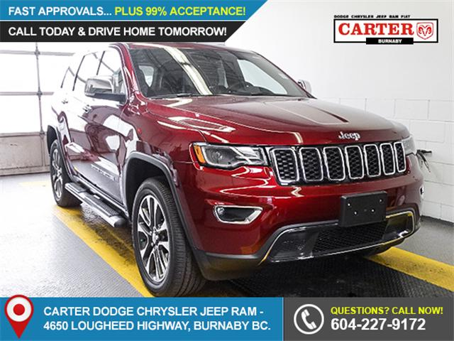 2018 Jeep Grand Cherokee Limited (Stk: G542720) in Burnaby - Image 1 of 6