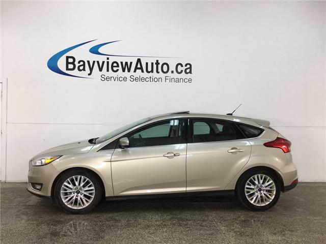 2018 Ford Focus Titanium (Stk: 33550EW) in Belleville - Image 1 of 28