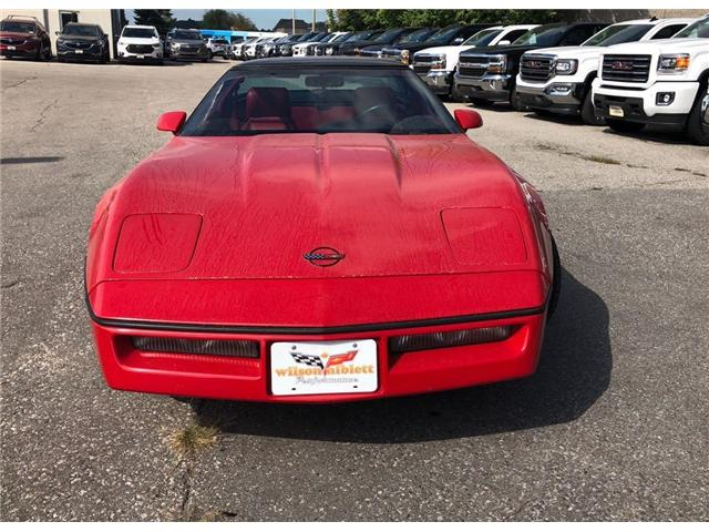 1990 Chevrolet Corvette  2DR Coupe (Stk: U102689) in Richmond Hill - Image 2 of 12
