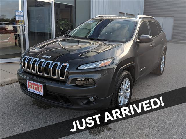 2016 Jeep Cherokee North (Stk: 80164A) in Goderich - Image 1 of 18