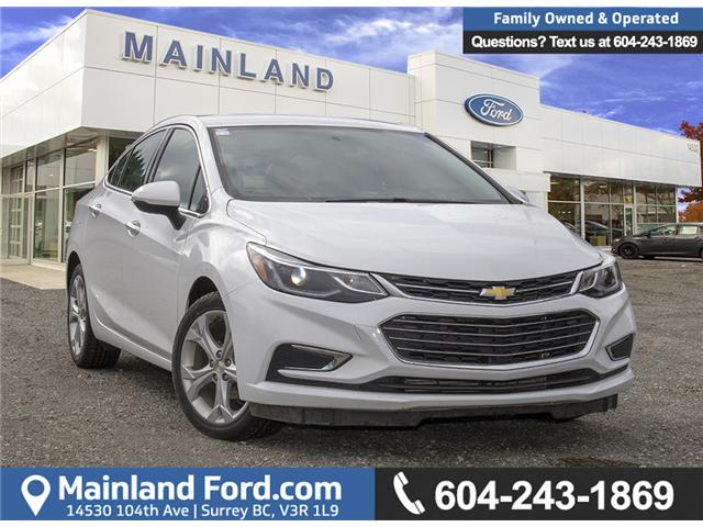 2017 Chevrolet Cruze Premier Auto (Stk: P5102) in Surrey - Image 1 of 23