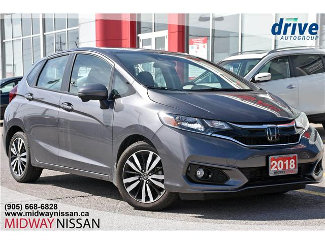 2018 Honda Fit LX (Stk: JW181534A) in Whitby - Image 1 of 25