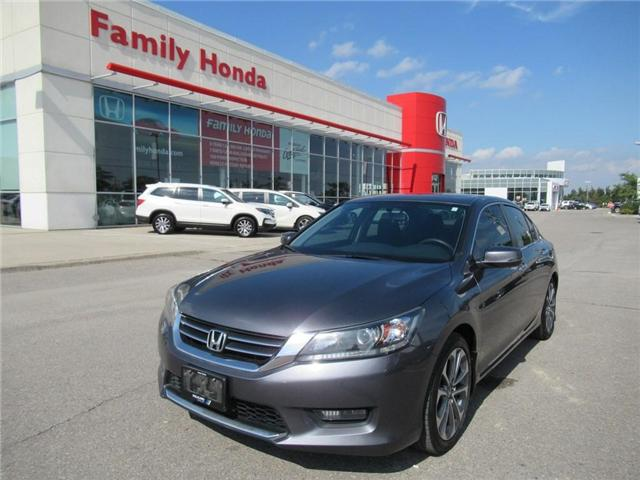 2015 Honda Accord Sport, WOW! GORGEOUS! (Stk: 8811420A) in Brampton - Image 1 of 27