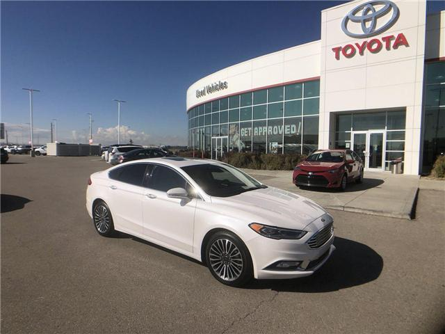 2017 Ford Fusion Titanium (Stk: 2800946A) in Calgary - Image 1 of 17