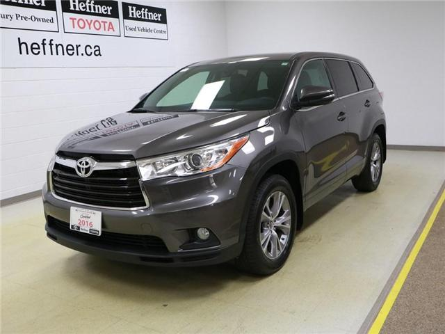 2016 Toyota Highlander  (Stk: 186076) in Kitchener - Image 1 of 24