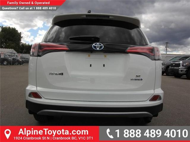 2018 Toyota RAV4 Hybrid SE (Stk: D241830) in Cranbrook - Image 4 of 19