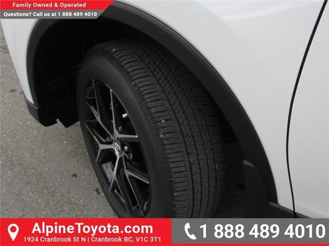 2018 Toyota RAV4 Hybrid SE (Stk: D241830) in Cranbrook - Image 18 of 19