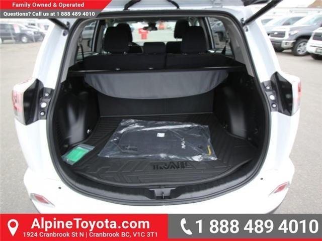 2018 Toyota RAV4 XLE (Stk: W833498) in Cranbrook - Image 18 of 20