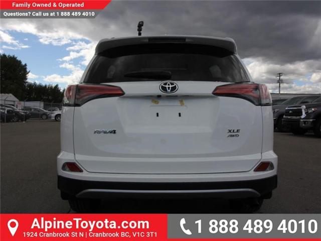 2018 Toyota RAV4 XLE (Stk: W834467) in Cranbrook - Image 4 of 19