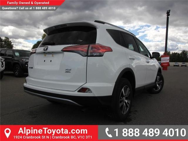 2018 Toyota RAV4 XLE (Stk: W834467) in Cranbrook - Image 5 of 19
