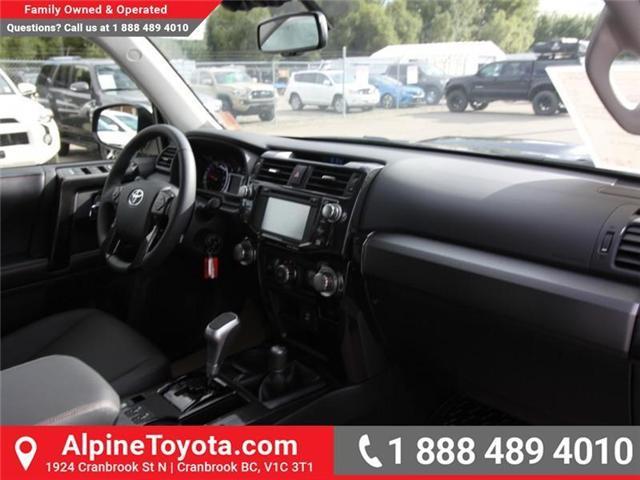 2019 Toyota 4Runner SR5 (Stk: 5612471) in Cranbrook - Image 11 of 19