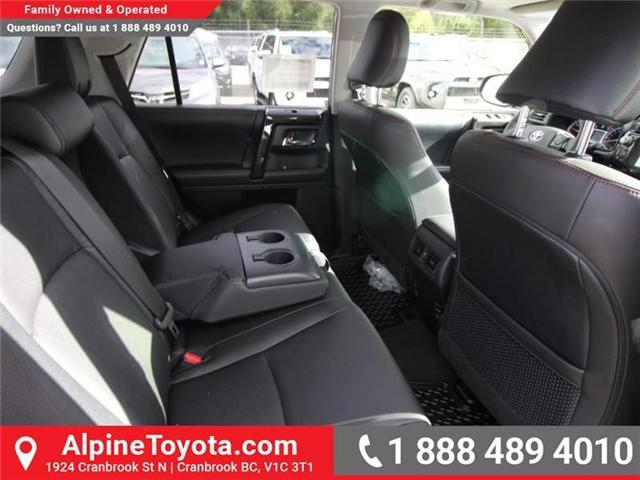 2019 Toyota 4Runner SR5 (Stk: 5612471) in Cranbrook - Image 12 of 19