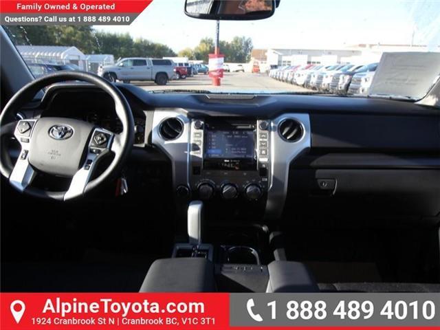 2019 Toyota Tundra SR5 Plus 5.7L V8 (Stk: X779735) in Cranbrook - Image 10 of 18