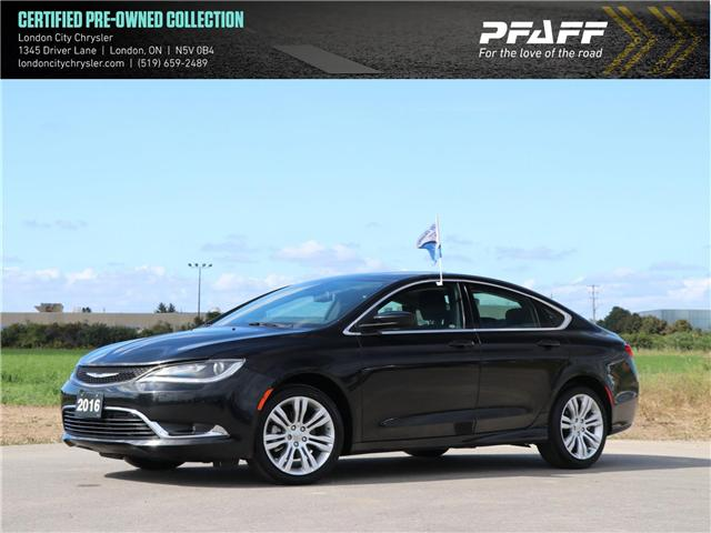 2016 Chrysler 200 Limited (Stk: 6068) in London - Image 1 of 20