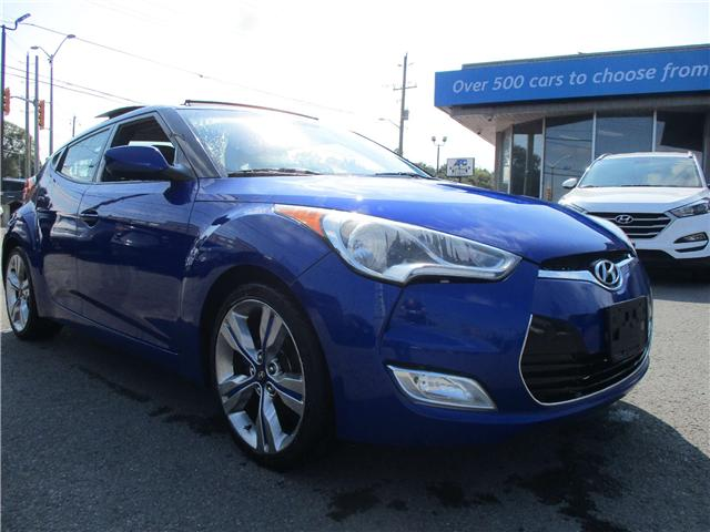 2012 Hyundai Veloster Tech (Stk: 181297) in Kingston - Image 1 of 12