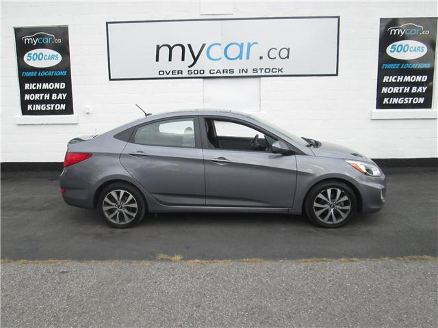 2017 Hyundai Accent SE (Stk: 181228) in North Bay - Image 1 of 14