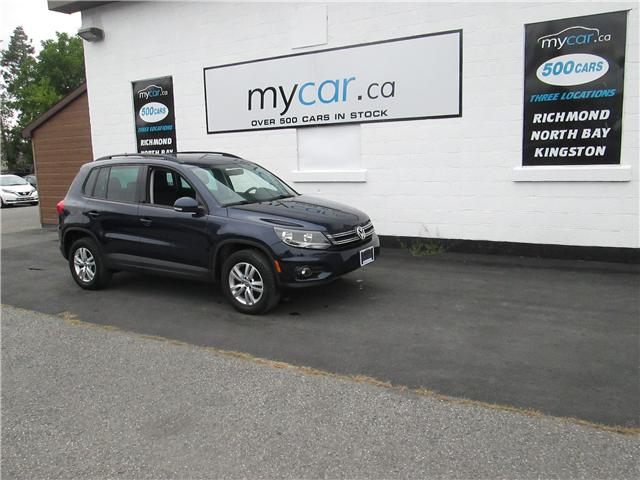 2015 Volkswagen Tiguan Trendline (Stk: 181283) in Kingston - Image 2 of 13