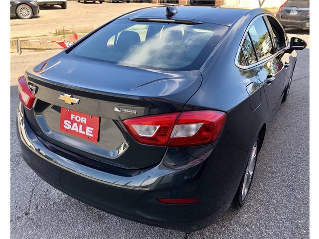 2017 Chevrolet Cruze Premier Auto (Stk: 604826) in Toronto - Image 4 of 12
