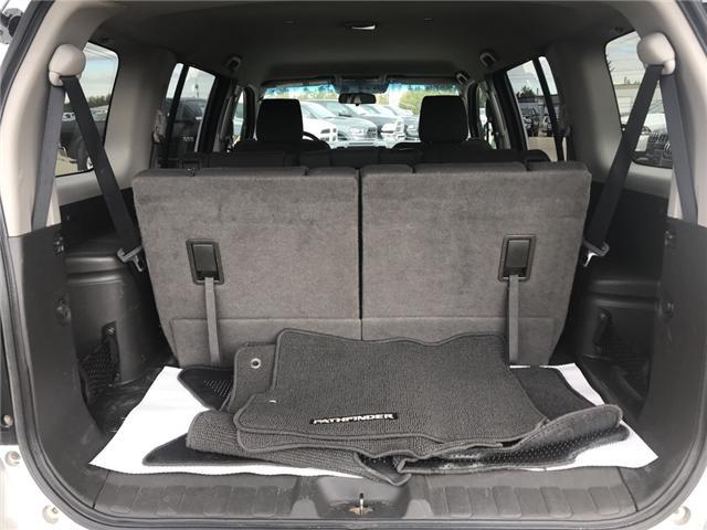 2011 Nissan Pathfinder S (Stk: 17R12454A) in Devon - Image 18 of 19