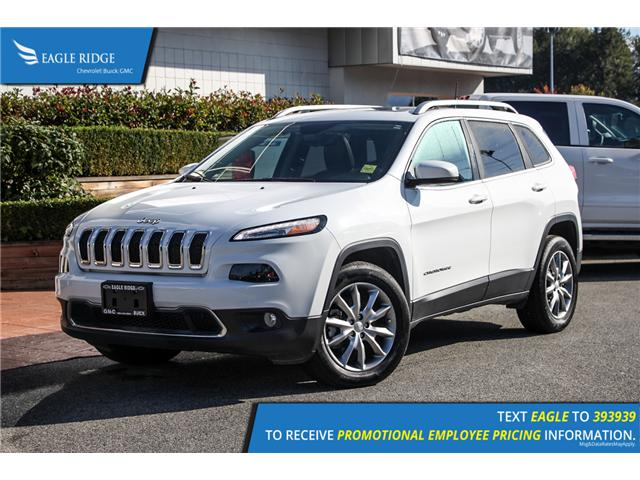 2017 Jeep Cherokee Limited (Stk: 179021) in Coquitlam - Image 1 of 17
