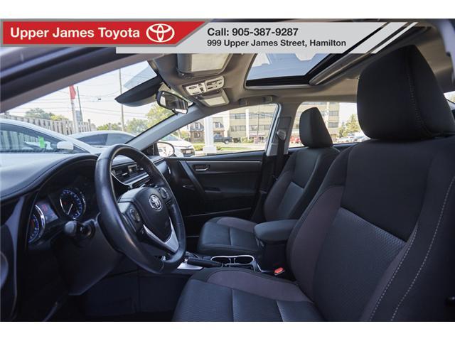 2017 Toyota Corolla LE (Stk: 74285) in Hamilton - Image 10 of 19