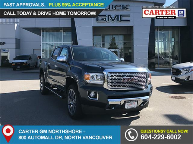 2019 GMC Canyon Denali (Stk: 9CN66560) in Vancouver - Image 1 of 12