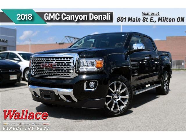 2018 GMC Canyon Denali (Stk: 256290) in Milton - Image 1 of 10