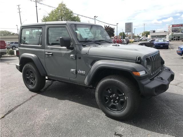 2018 Jeep Wrangler Sport (Stk: 181263) in Windsor - Image 1 of 11