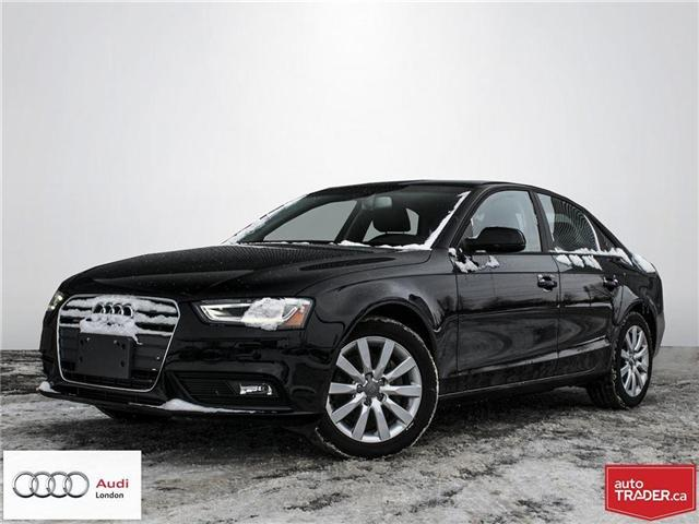2014 Audi A4 2.0 Komfort (Stk: 17666A) in London - Image 1 of 21